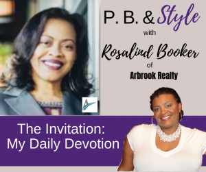 The Invitation, Rosalind Booker Talks Daily Devotions
