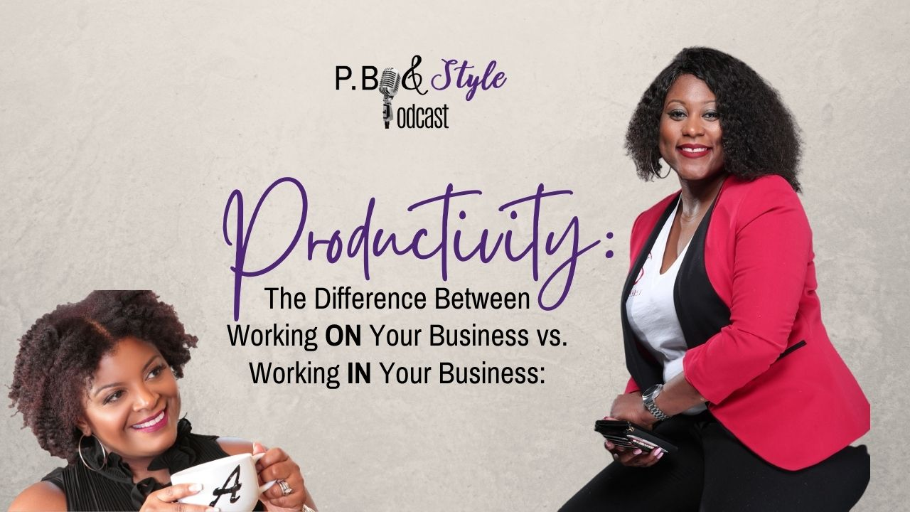 Working on your business with productivity