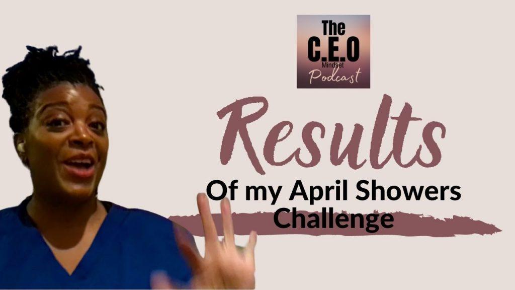 April Challenge Results