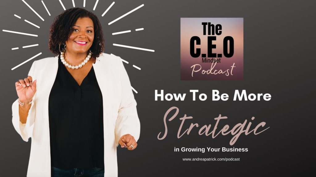 3 tips to be more strategic